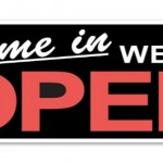 We are Open at Sunday